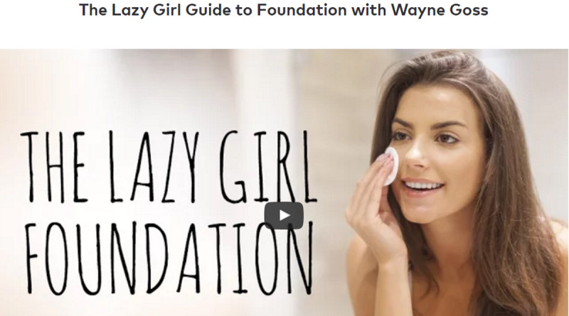 THE LAZY GIRL GUIDE TO FOUNDATION WITH WAYNE GOSS
