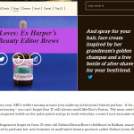 JHELUM LOVES: EX HARPER'S BAZAAR BEAUTY EDITOR BREWS PERFUME