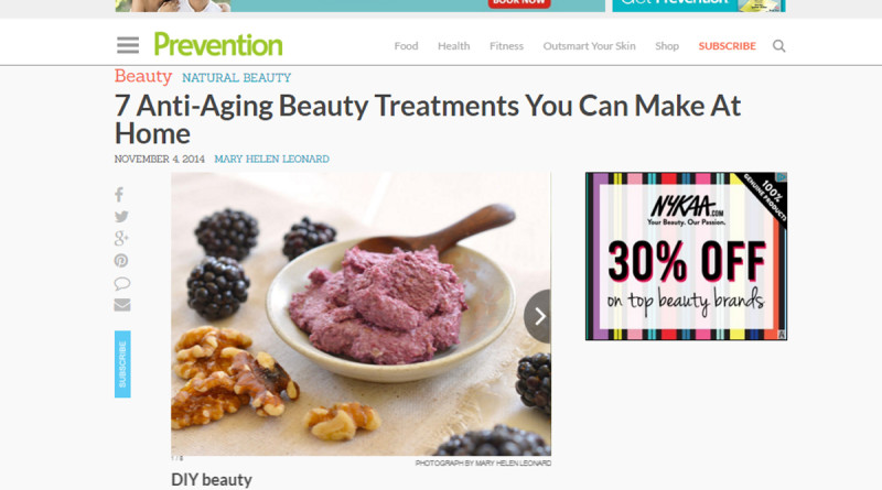7 ANTI-AGING BEAUTY TREATMENTS YOU CAN MAKE AT HOME